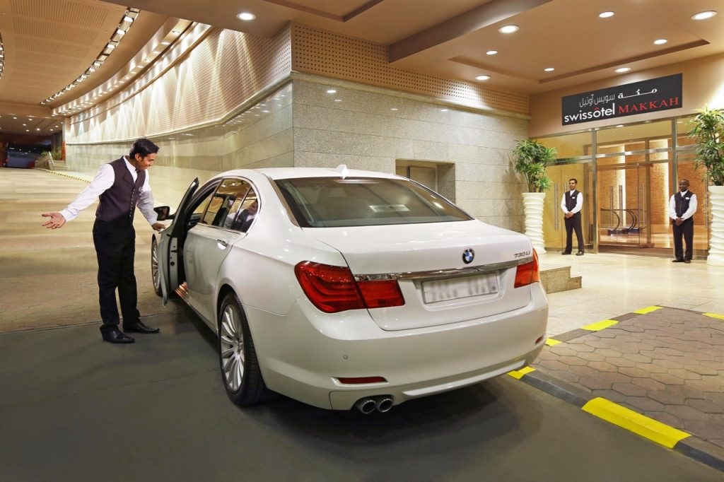 Private Hire Car at the Swissotel Makkah