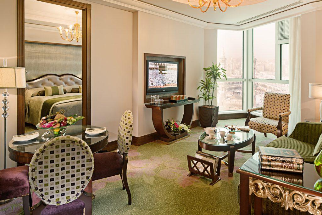 Raffles Makkah Palace hotel suite